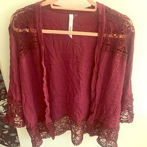 Sweaters - Cut top